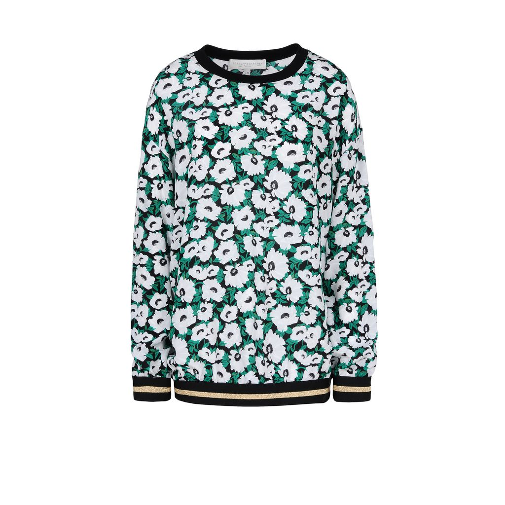 Poppy Print Ines Top - STELLA MCCARTNEY