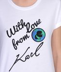 KARL LAGERFELD With Love From Karl Tee 8_d