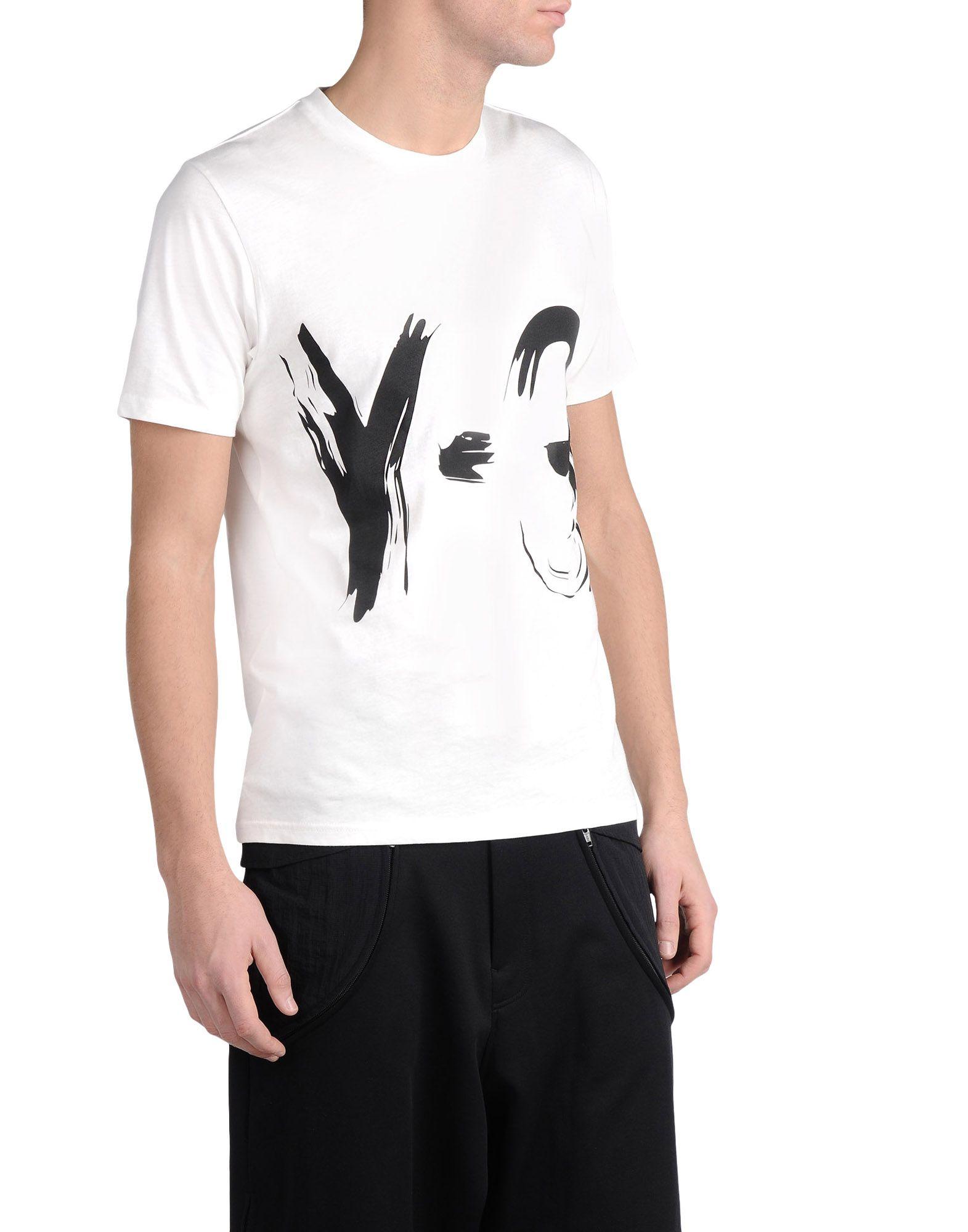 Y-3 SKETCH TEE TEES & POLOS man Y-3 adidas
