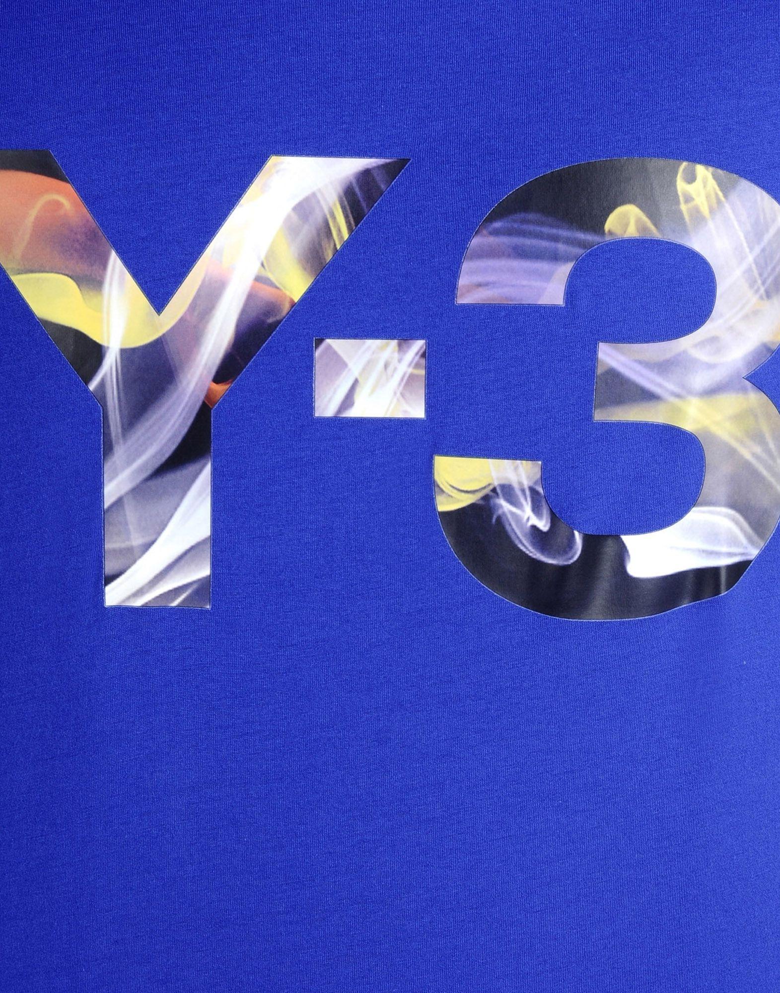 Y-3 BROWNIAN TEE TEES & POLOS man Y-3 adidas