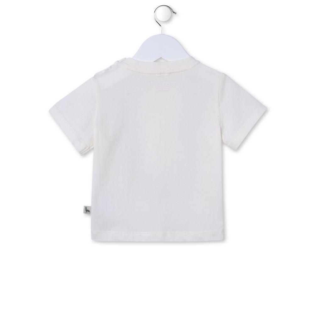 Bird Chuckle T-shirt - STELLA MCCARTNEY KIDS