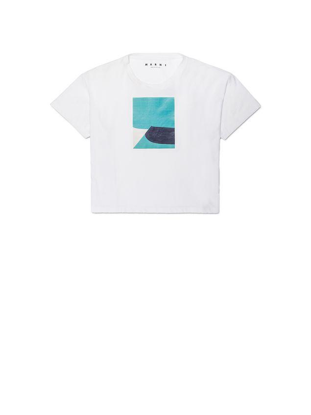 Marni T-shirt in jersey Jack Davidson print Woman - 2