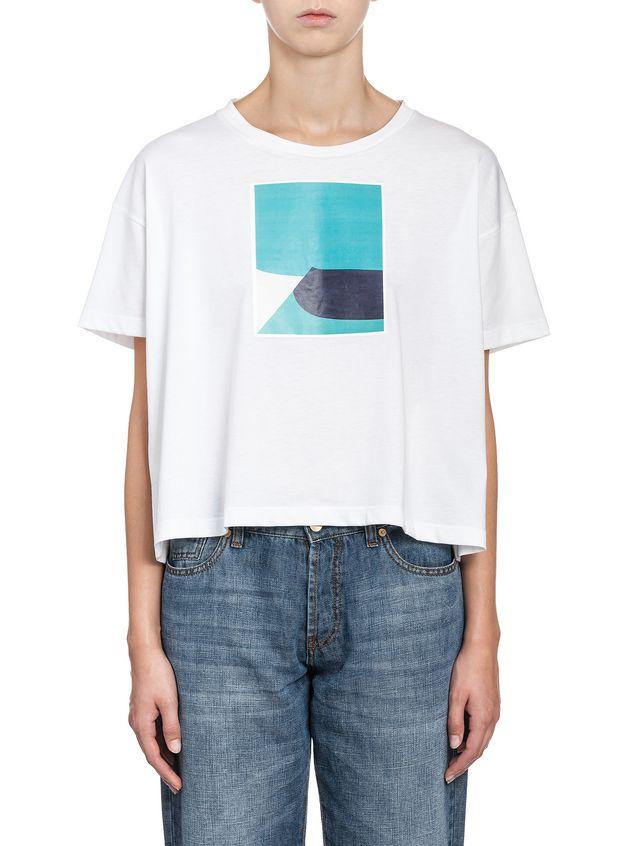 Marni T-shirt in jersey Jack Davidson print Woman - 1