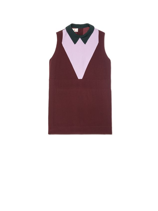 bba9074d1e8 Crewneck Top In Crêpe Envers Satin from the Marni Spring/Summer 2019 ...