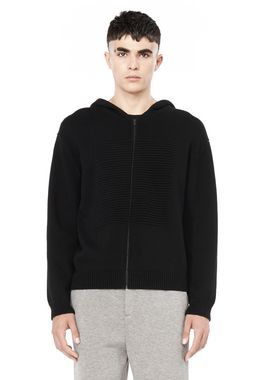 HOODIE WITH OTTOMAN SQUARE