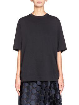 Marni Boxy runway T-shirt in cotton jersey  Woman