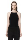T by ALEXANDER WANG MODAL SPANDEX SLEEVELESS BODYSUIT TOP Adult 8_n_a