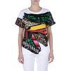 STELLA McCARTNEY Paint Stroke Print T-shirt  T-Shirt D d