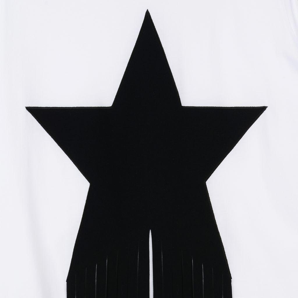 White Star Patch T-shirt - STELLA MCCARTNEY