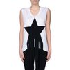 STELLA McCARTNEY White Star Patch T-shirt T-Shirt D d
