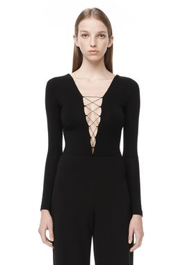 MODAL SPANDEX LONG SLEEVE BODYSUIT