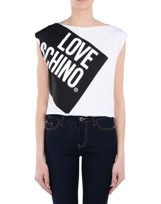Sleeveless t-shirt Woman LOVE MOSCHINO