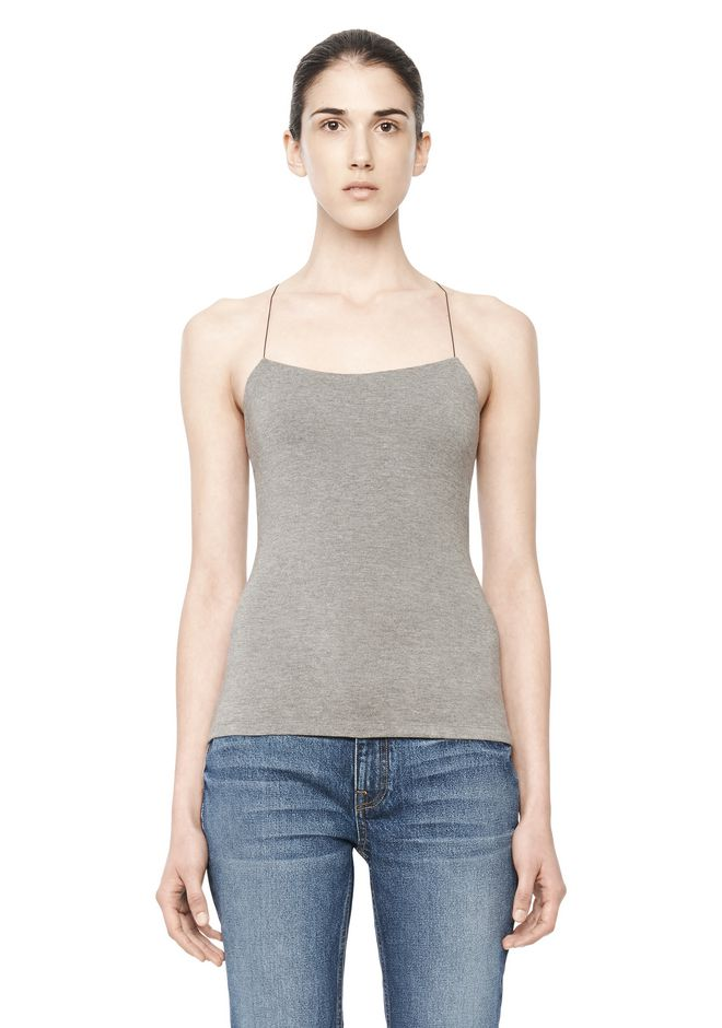 T by ALEXANDER WANG TOPS CUTOUT MODAL CAMI TOP
