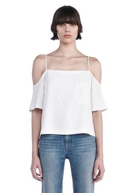 POLY CREPE OFF THE SHOULDER TOP