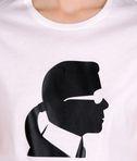 KARL LAGERFELD T-shirt Ikonik avec profil de Karl 8_e