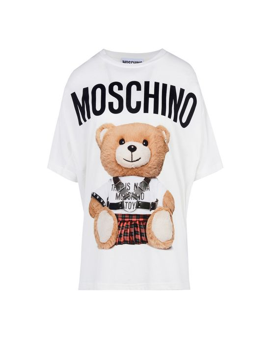 moschino t shirt dress replica 6am. Black Bedroom Furniture Sets. Home Design Ideas
