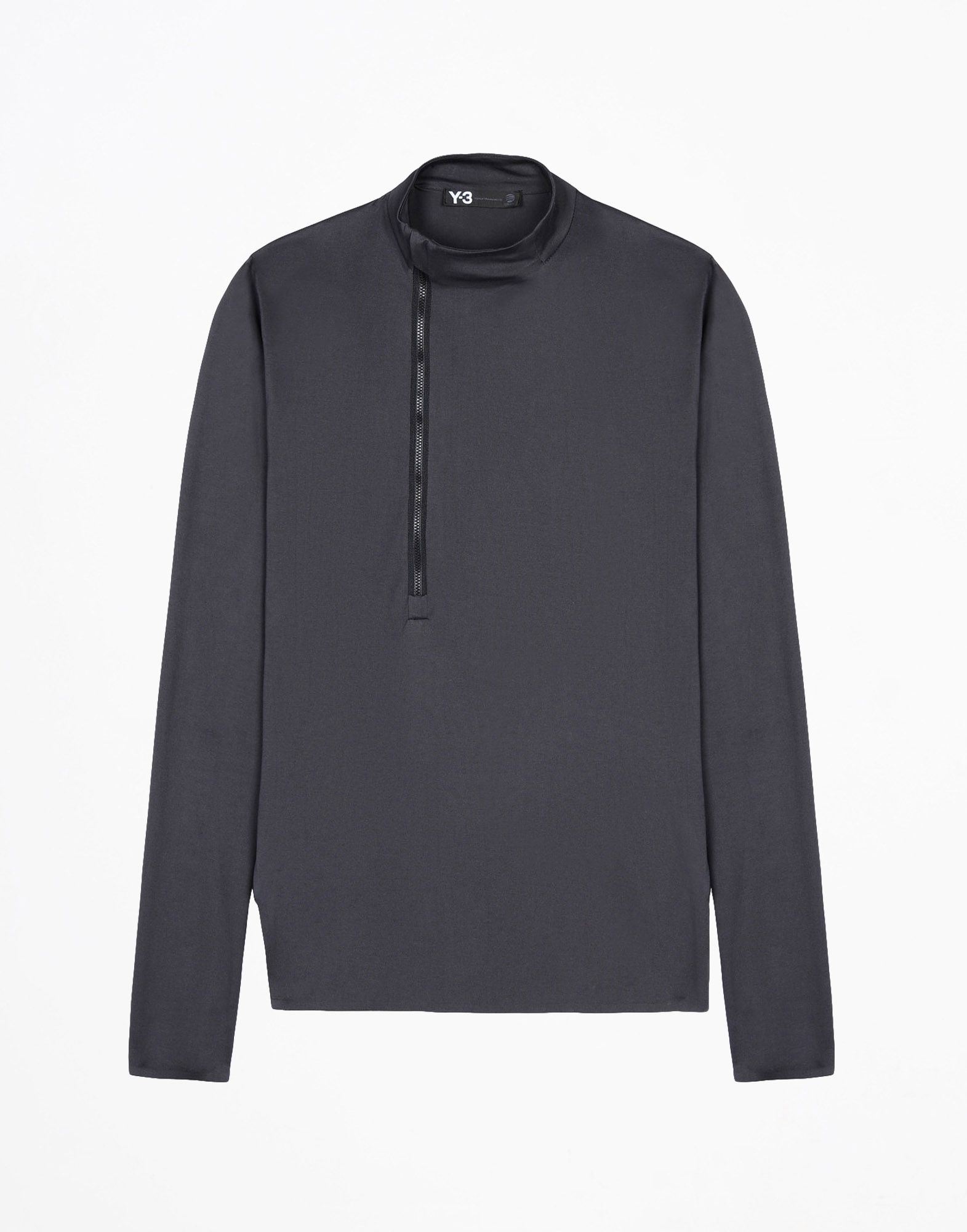 Y-3 ZIP LONG SLEEVE TEES & POLOS man Y-3 adidas
