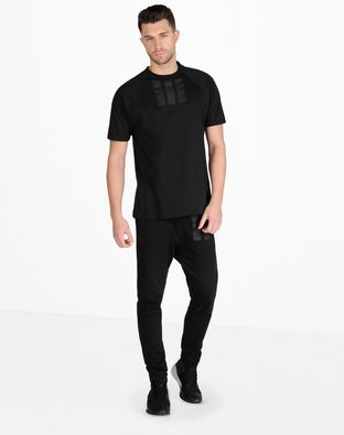Y-3 FRENCH TERRY MIX PANT TEES & POLOS man Y-3 adidas