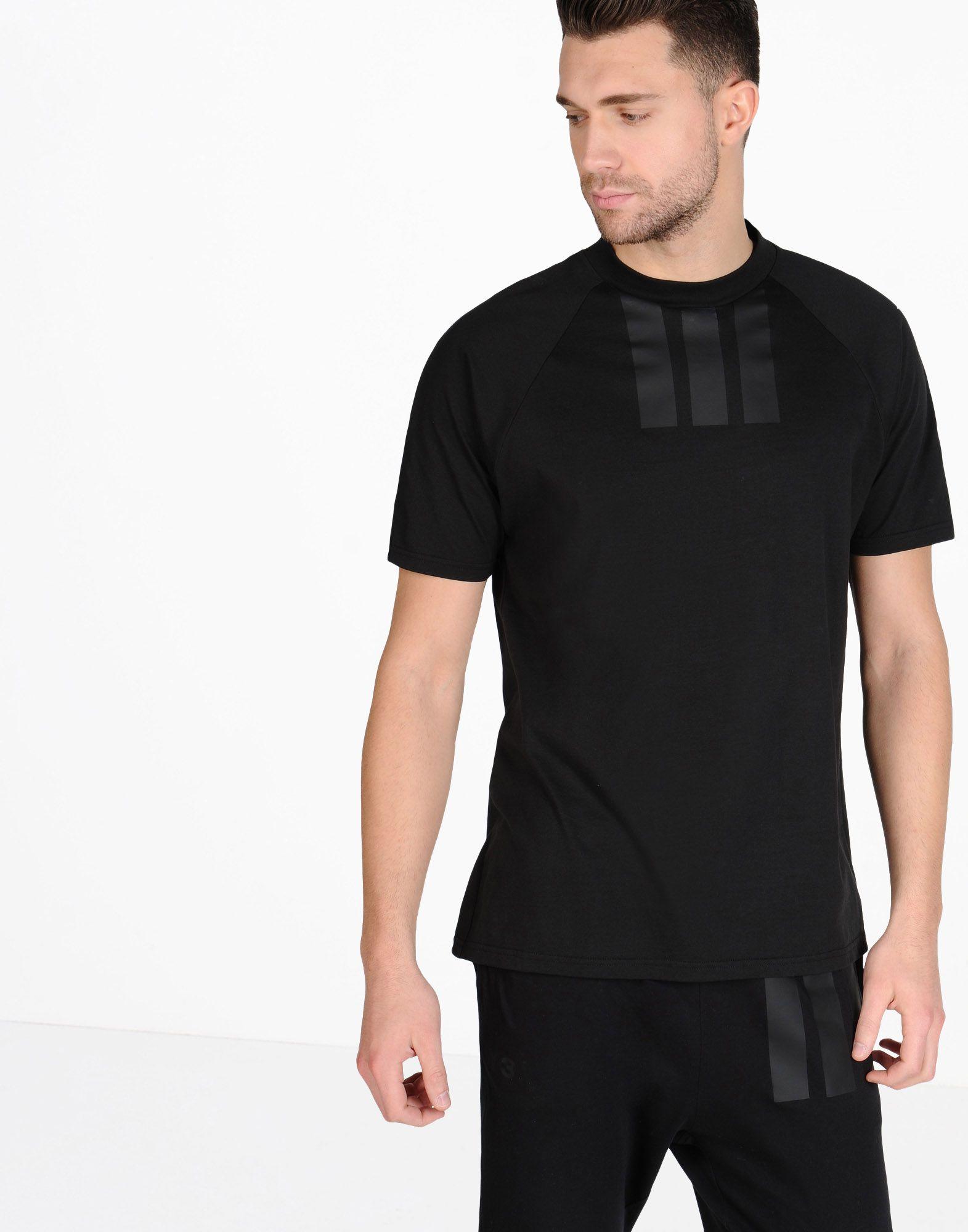 3 stripe t shirt