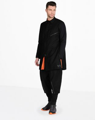 Y-3 ZIP LONG SHIRT SHIRTS man Y-3 adidas