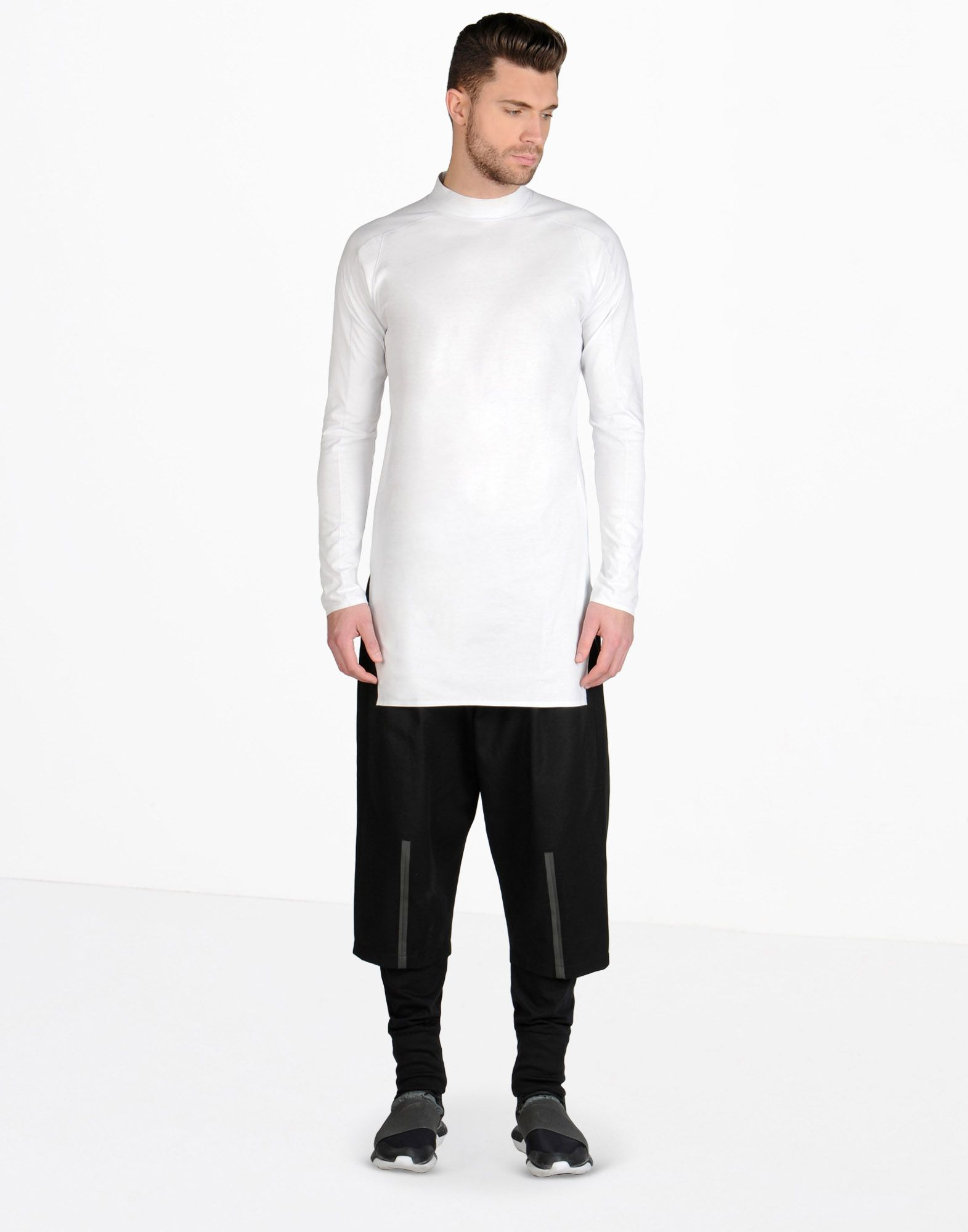 Y 3 Collar Longsleeve Tee Long Sleeve T Shirts Adidas