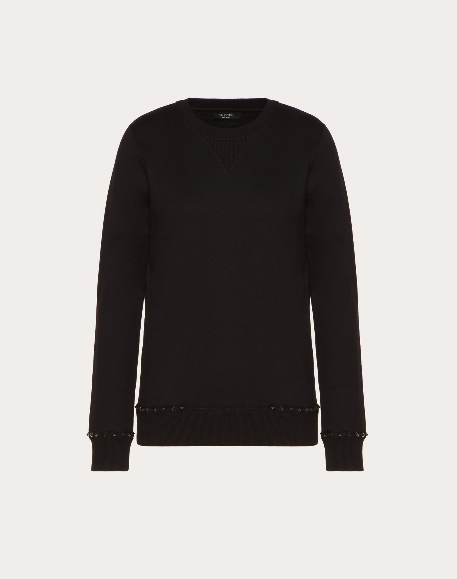 Buy Cheap Reliable Black Rockstud sweatshirt Valentino Visa Payment Sale Online Outlet Real Shop For Online Discount Comfortable qzKwvG