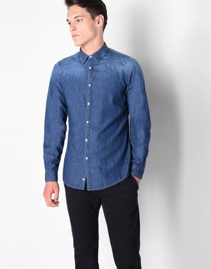 TRUSSARDI JEANS - Denim shirt