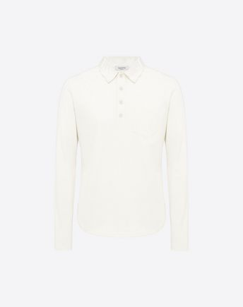 VALENTINO LONG SLEEVED POLO T-SHIRT  37902827DR