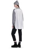 T by ALEXANDER WANG MERINO KNIT PULLOVER WITH VISCOSE COMBO  TOP Adult 8_n_f