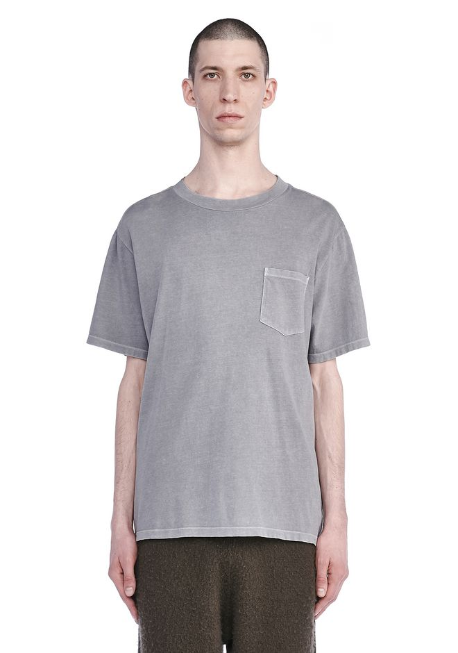 T by ALEXANDER WANG ready-to-wear-sale SUN FADED SHORT SLEEVE TEE WITH POCKET