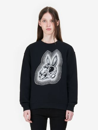 """Bunny Be Here Now"" Classic Sweatshirt"
