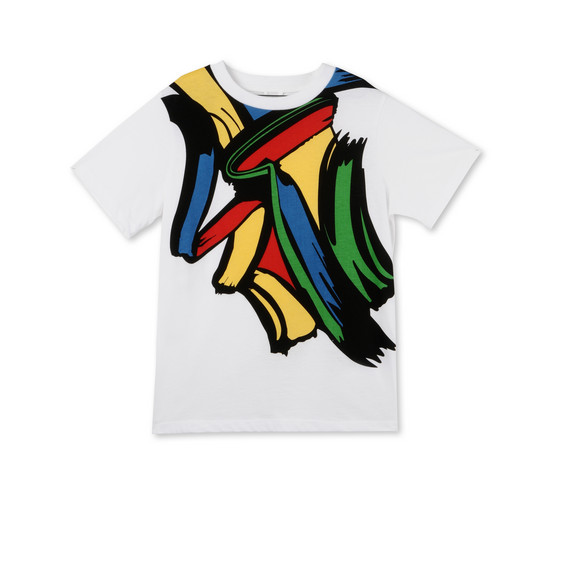 T-shirt Arlo Stampa Pennellate
