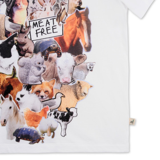 Arlo Meat Free Monday Animals T-Shirt