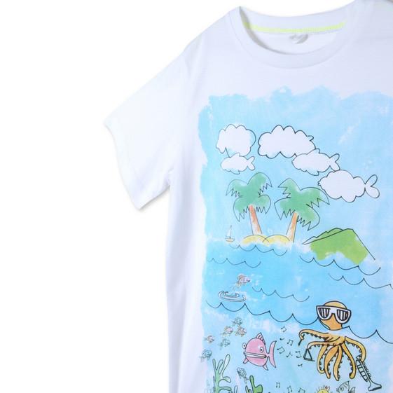 Arlo Island Print T-shirt