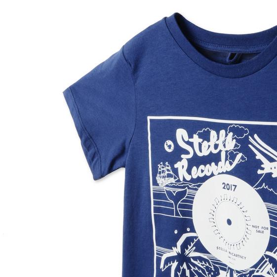 Blue Arrow Record T-Shirt