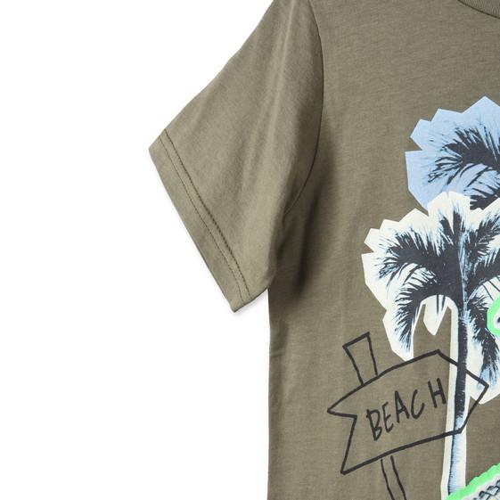 Crocodile Print Arrow T-shirt