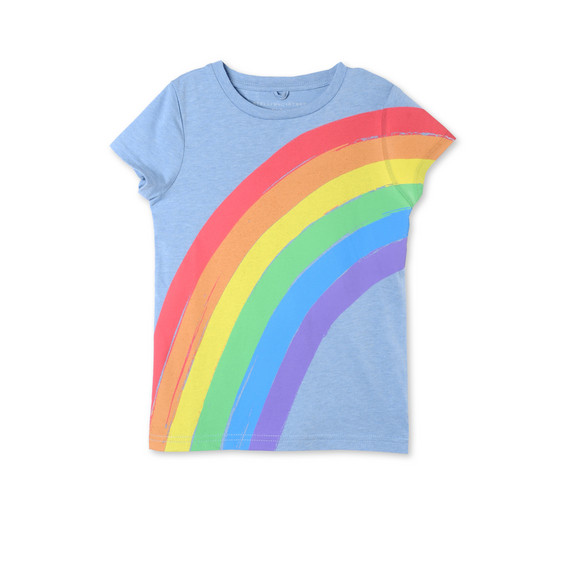 Blue Rainbow Lizzie T-shirt