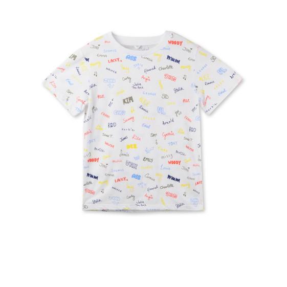 Arlo Names Print T-shirt