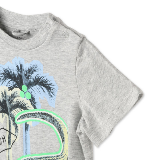 Croco Beach Print Chuckle T-shirt