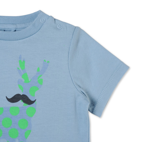 Deer Logo Print Chuckle T-shirt