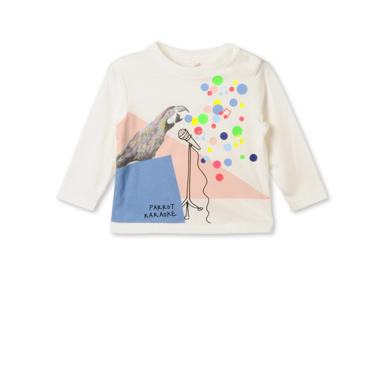 Parrot Print Georgie T-shirt