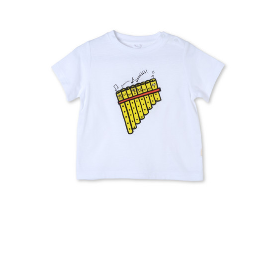 Pan Pipes Print Chuckle T-shirt