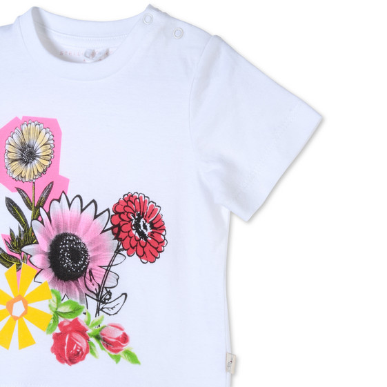 Floral Collage Print Chuckle T-shirt