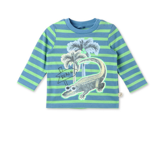 Croco Beach Print Tad T-shirt