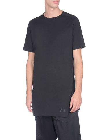 Y-3 PLANET TEE BLACK TEES & POLOS woman Y-3 adidas