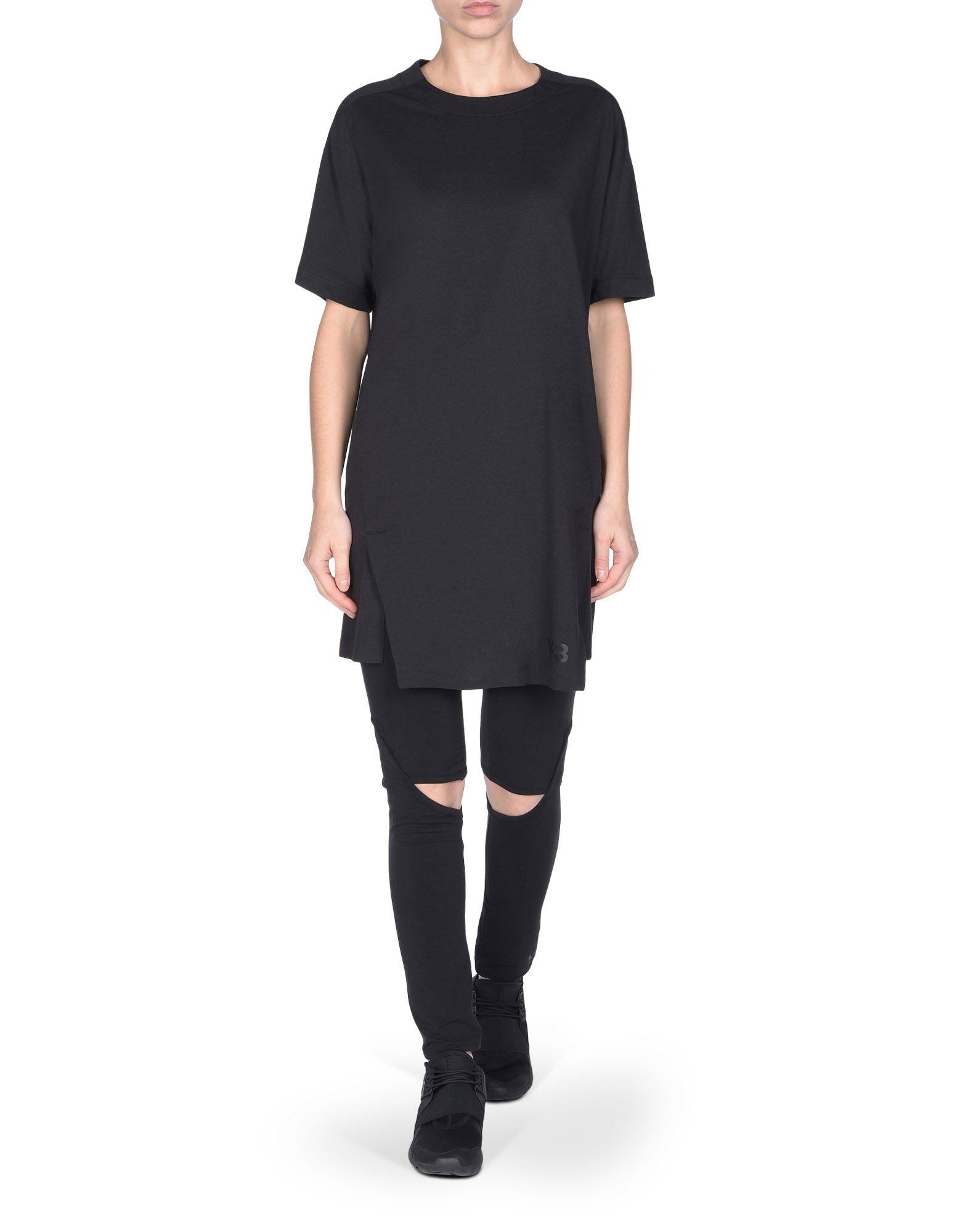 Black t shirt unisex -  Y 3 Planet Tee Black Tees Polos Unisex Y 3 Adidas