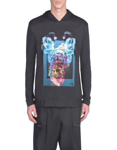 Y-3 ALIEN GRAPHIC SWEATER TEES & POLOS man Y-3 adidas