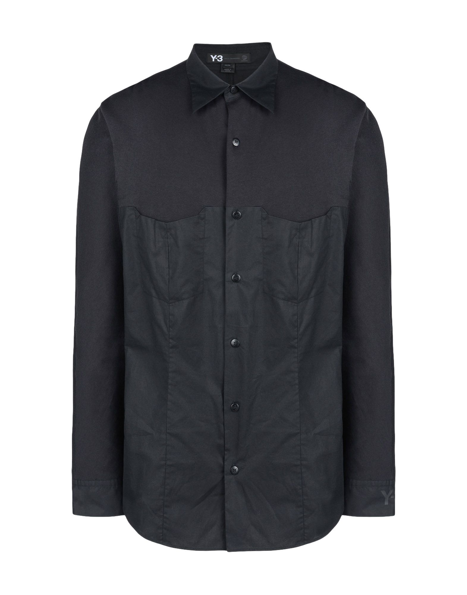 Y 3 MINIMALIST SHIRT Long Sleeve Shirts for Men | Adidas Y-3 ...