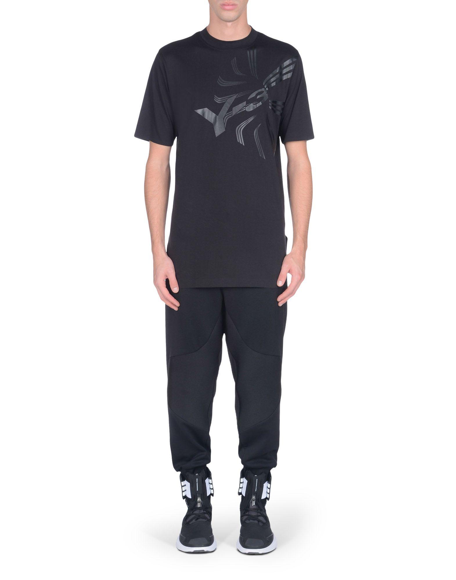 Y-3 BLACK GALAXY TEE TEES & POLOS man Y-3 adidas