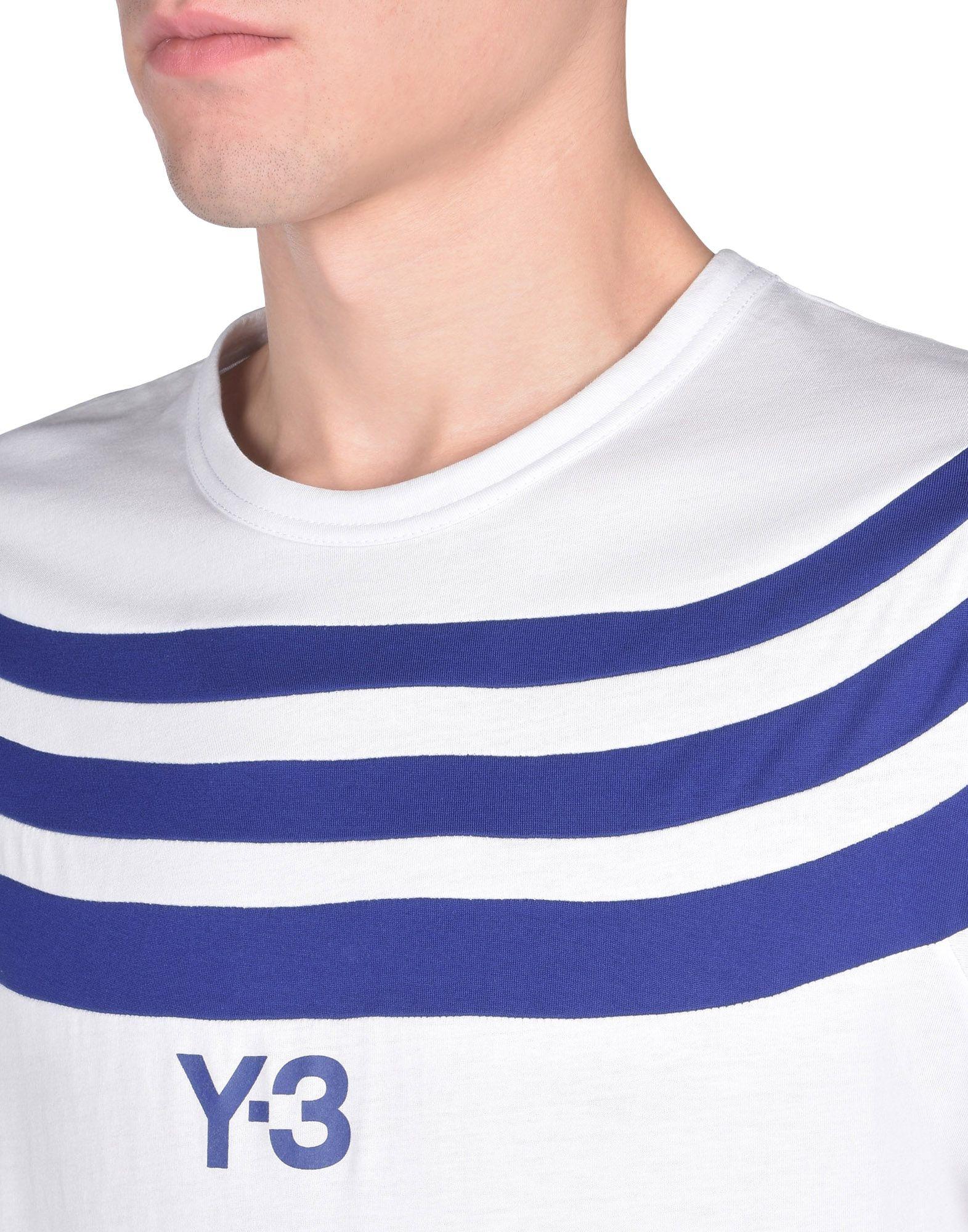 Y-3 Y-3 3-STRIPES TEE T シャツ メンズ a